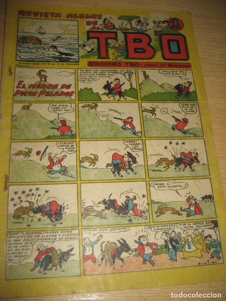 Tebeos: revista alegre de tbo . el heroe de picos pelados . benejam años 40 - Foto 2 - 259920740
