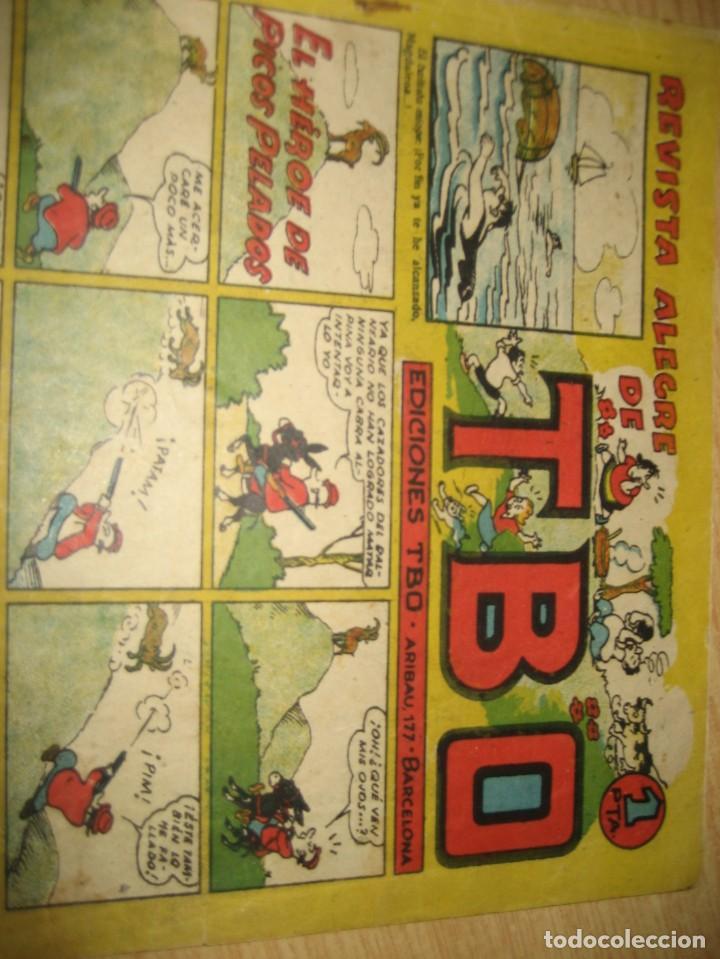 Tebeos: revista alegre de tbo . el heroe de picos pelados . benejam años 40 - Foto 3 - 259920740