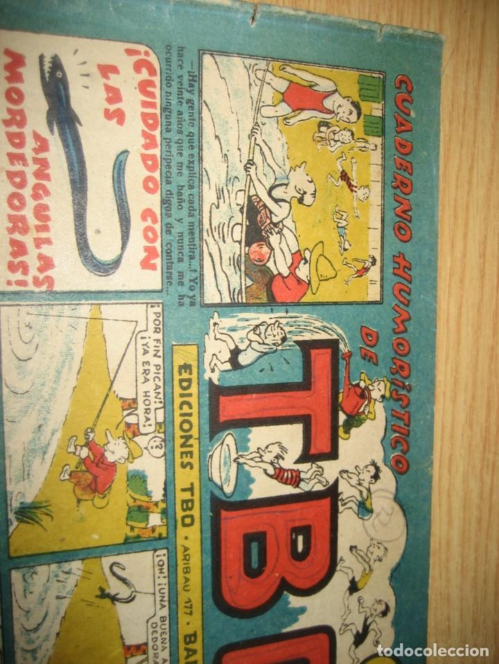 Tebeos: cuaderno humoristico de tbo . cuidado con las anguilas mordedoras . benejam nº 132 ? años 40 - Foto 3 - 259922800
