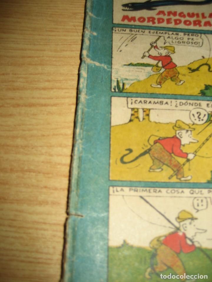Tebeos: cuaderno humoristico de tbo . cuidado con las anguilas mordedoras . benejam nº 132 ? años 40 - Foto 4 - 259922800