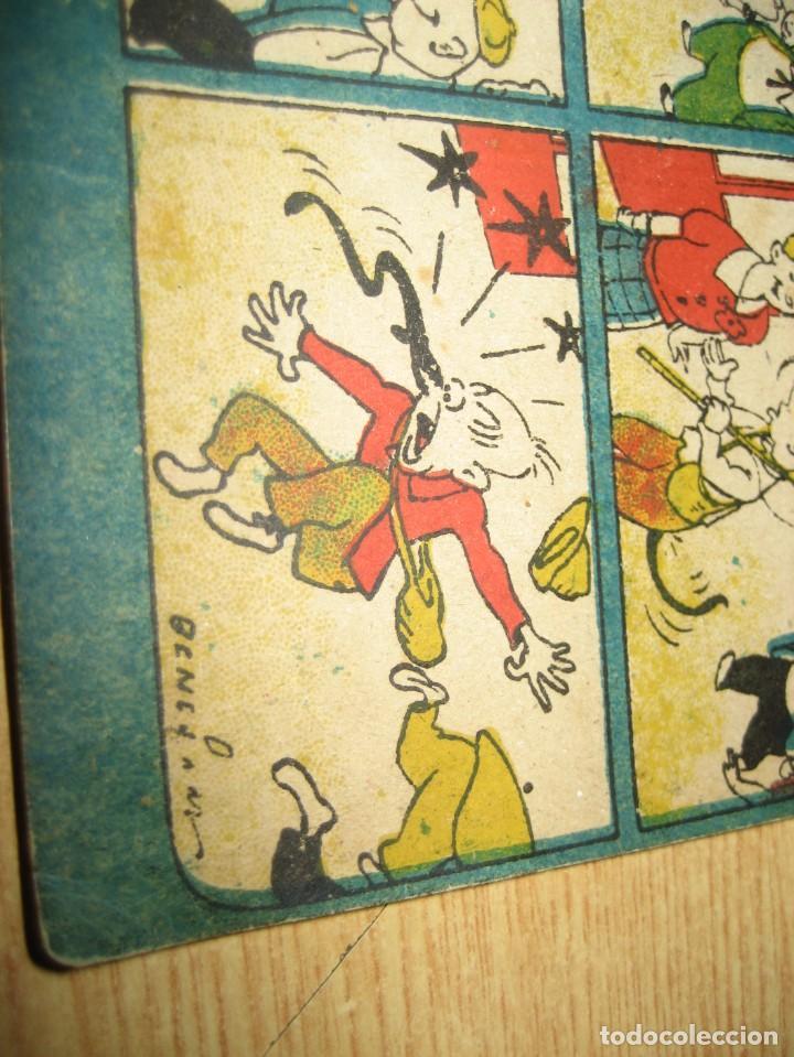 Tebeos: cuaderno humoristico de tbo . cuidado con las anguilas mordedoras . benejam nº 132 ? años 40 - Foto 5 - 259922800