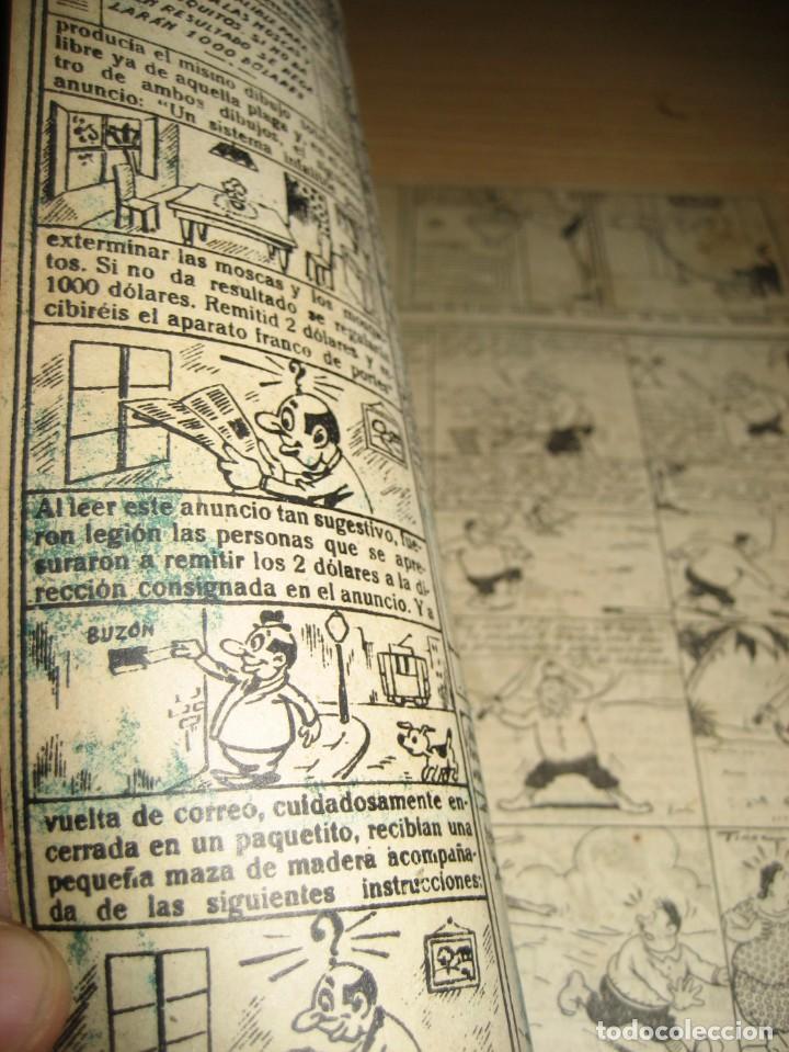 Tebeos: cuaderno humoristico de tbo . cuidado con las anguilas mordedoras . benejam nº 132 ? años 40 - Foto 7 - 259922800