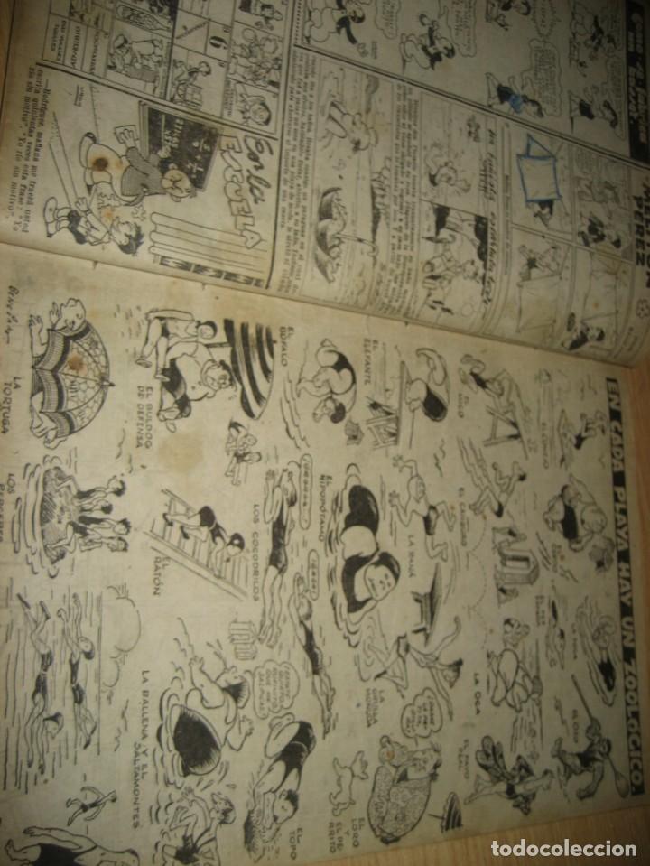 Tebeos: cuaderno humoristico de tbo . cuidado con las anguilas mordedoras . benejam nº 132 ? años 40 - Foto 8 - 259922800
