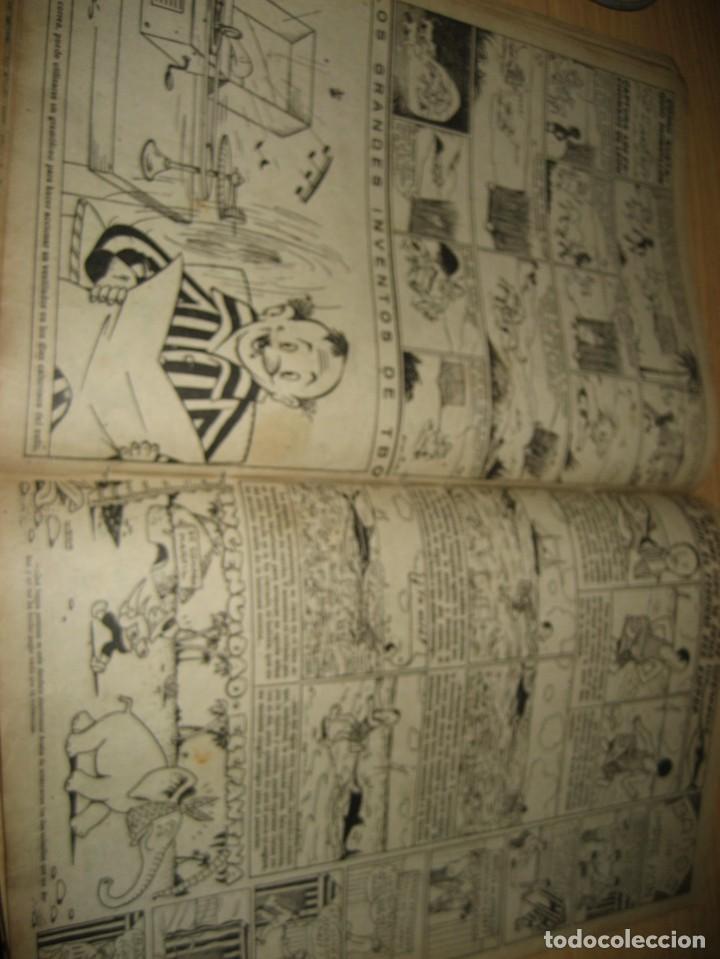 Tebeos: cuaderno humoristico de tbo . cuidado con las anguilas mordedoras . benejam nº 132 ? años 40 - Foto 9 - 259922800