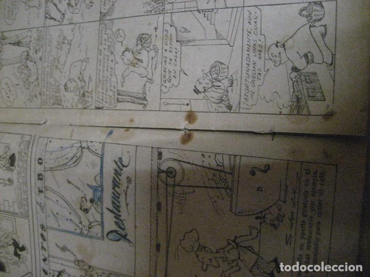 Tebeos: hojas festivas de tbo . un plan de venganza . nº 35 ? benejam años 40 - Foto 9 - 259923990