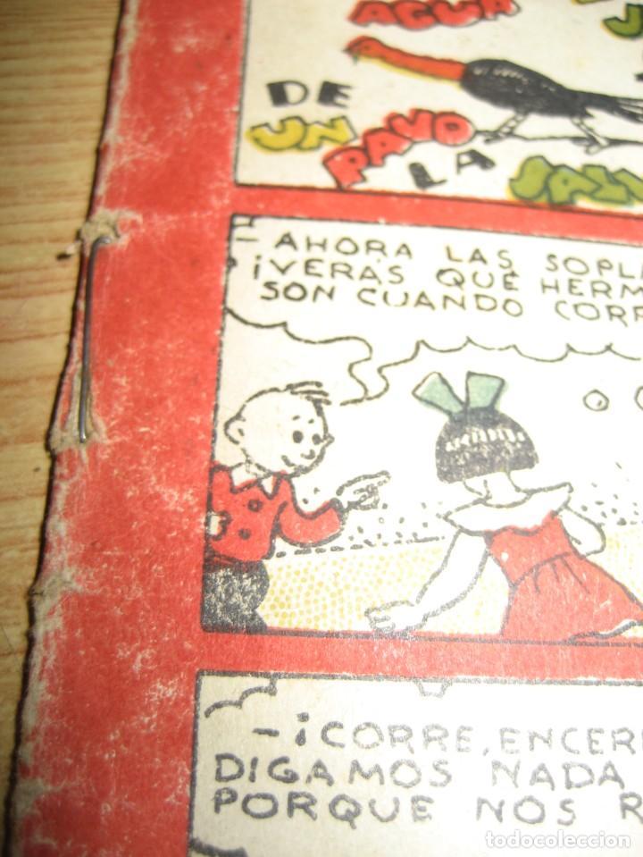 Tebeos: amenidades tbo . como el agua de jabon fue de un pavo la salvacion ... año 1945 - Foto 5 - 259925020