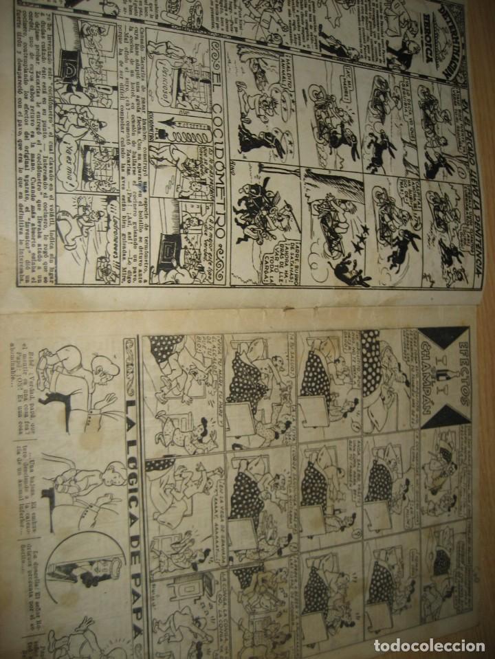 Tebeos: amenidades tbo . como el agua de jabon fue de un pavo la salvacion ... año 1945 - Foto 6 - 259925020