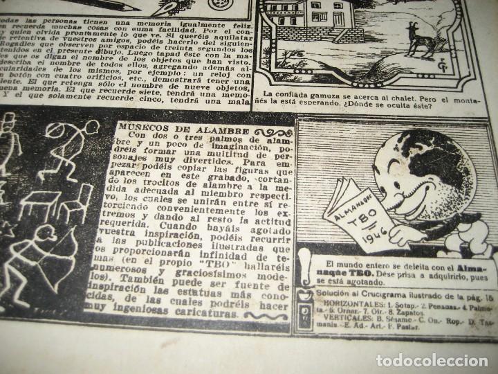Tebeos: amenidades tbo . como el agua de jabon fue de un pavo la salvacion ... año 1945 - Foto 9 - 259925020
