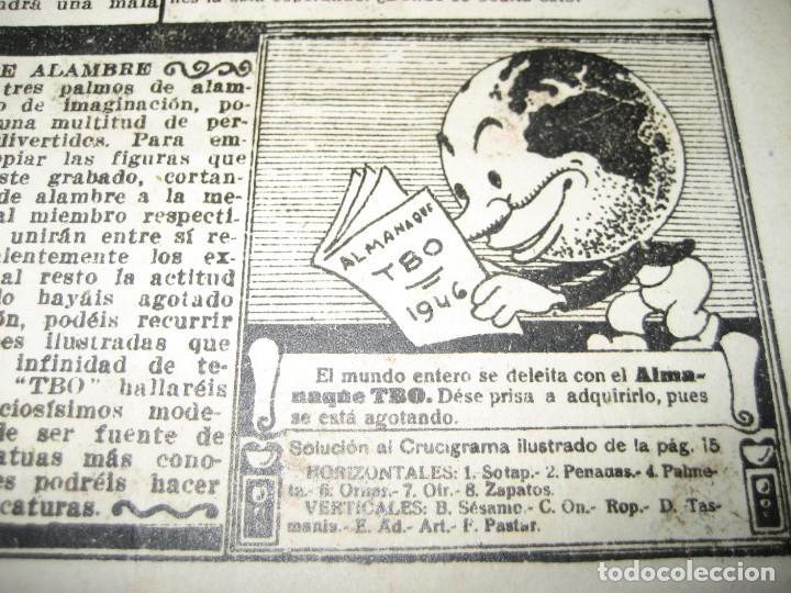 Tebeos: amenidades tbo . como el agua de jabon fue de un pavo la salvacion ... año 1945 - Foto 11 - 259925020