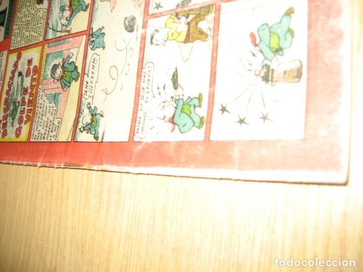 Tebeos: cuaderno selecto de tbo . un desgraciado golpe de viento . benejam . años 40 - Foto 4 - 259925255