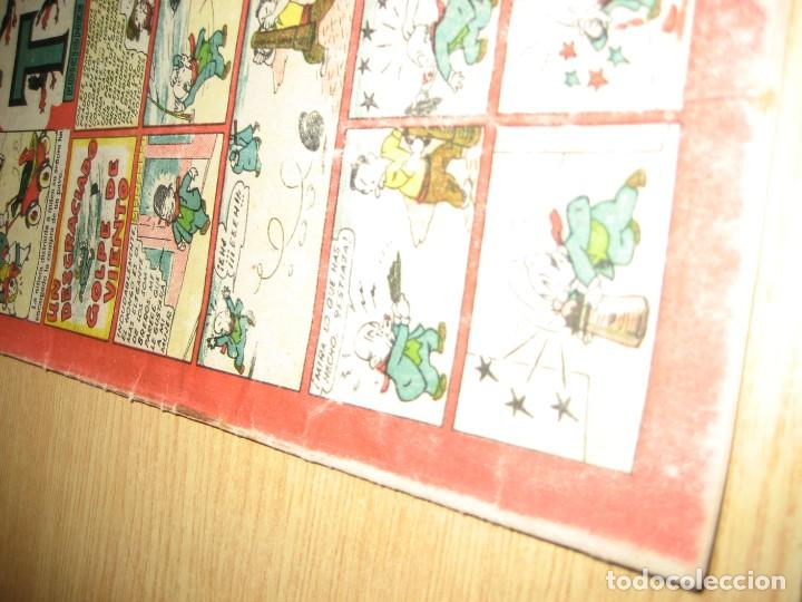 Tebeos: cuaderno selecto de tbo . un desgraciado golpe de viento . benejam . años 40 - Foto 5 - 259925255