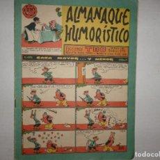 Tebeos: ALMANAQUE HUMORISTICO PARA 1961 - 2,50 PTAS - CAZA MAYOR ... Y MENOR -. Lote 260412625