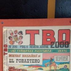 Tebeos: TBO 2000 REVISTA JUVENIL. N.º 2010. LAS FABULOSAS HISTORIAS DEL OESTE.. Lote 260839550
