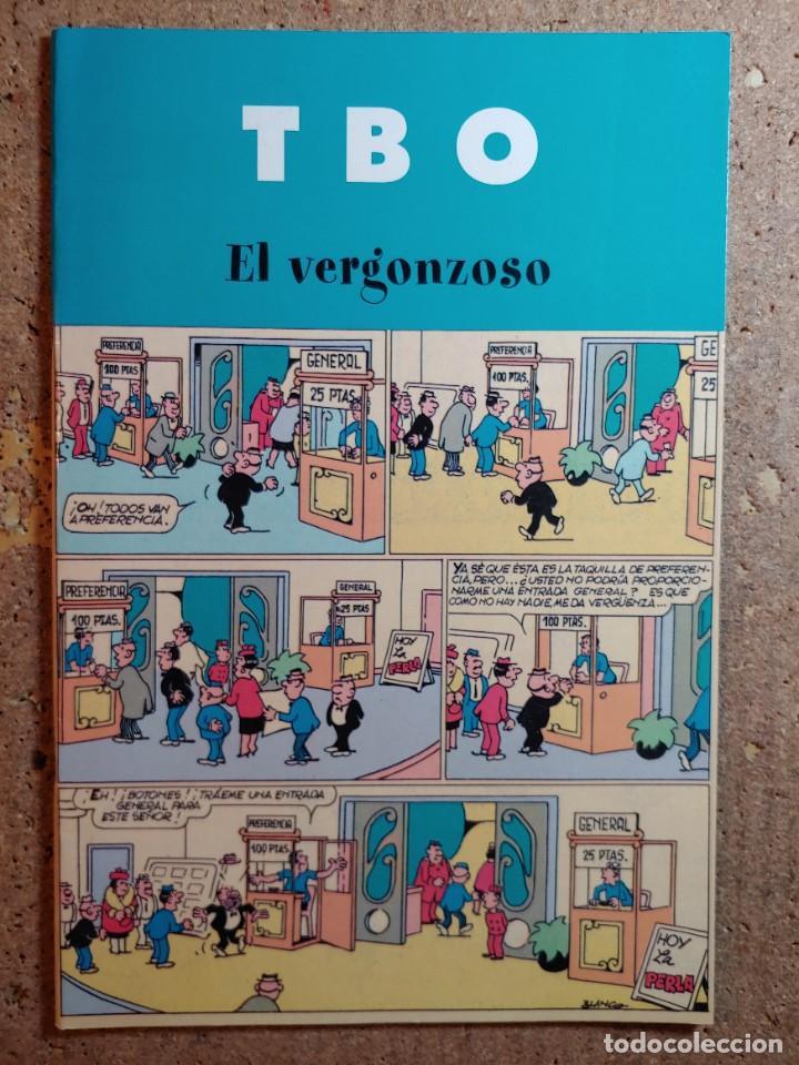 COMIC DE T B O EN EL VERGONZOSO (Tebeos y Comics - Buigas - TBO)