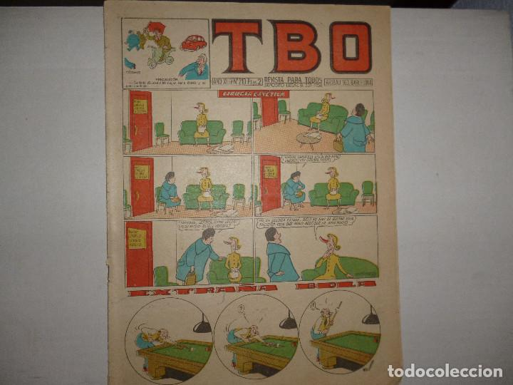 TBO Nº 210 - CIRUGIA ESTÉTICA - 2 PTAS - (Tebeos y Comics - Buigas - TBO)