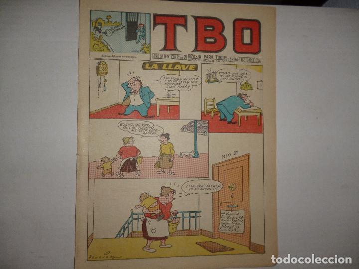 TBO Nº 229 - LA LLAVE - 2 PTAS - (Tebeos y Comics - Buigas - Otros)