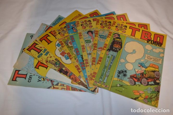 LOTE 9 TBO VARIADOS - BUIGAS - AÑOS 70 - 1 ALMANAQUE + 3 EXTRAS + 5 NORMALES - MADE IN SPAIN ¡MIRA! (Tebeos y Comics - Buigas - TBO)