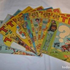 Tebeos: LOTE 9 TBO VARIADOS - BUIGAS - AÑOS 70 - 1 ALMANAQUE + 3 EXTRAS + 5 NORMALES - MADE IN SPAIN ¡MIRA!. Lote 261666695