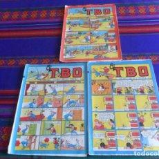 Tebeos: EL TBO NºS 2432, 2443 Y 2446. 40 PTS. 1981.. Lote 261956495