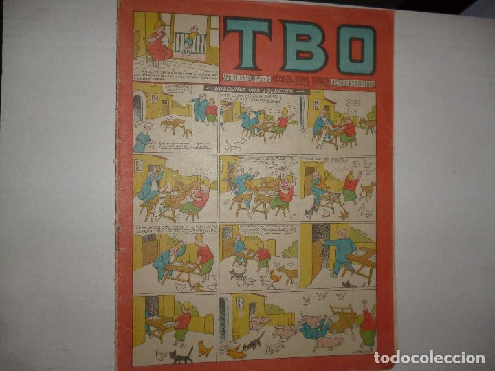 TBO Nº 200 - BUSCANDO UNA SOLUCIÓN - 2 PTAS - (Tebeos y Comics - Buigas - TBO)