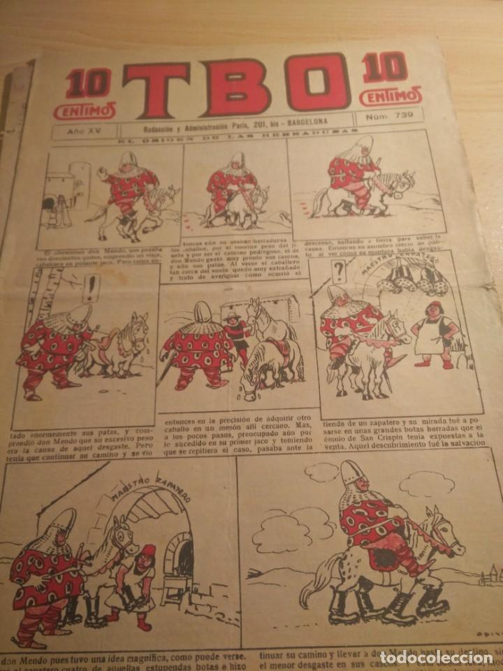 LOTE 12 TBO AÑO VIII (Tebeos y Comics - Buigas - TBO)