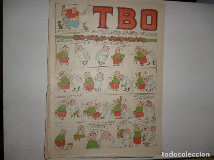 TBO Nº 205 - UN RUIDO SOSPECHOSO - 2 PTAS - (Tebeos y Comics - Buigas - TBO)