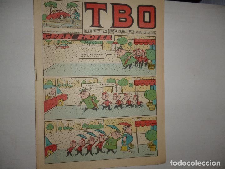 TBO Nº 227 - GRAN HOTEL - 2 PTAS - (Tebeos y Comics - Buigas - Otros)