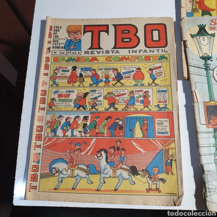 Tebeos: 6 TBO, Los Fotografiados. - Foto 4 - 262820645