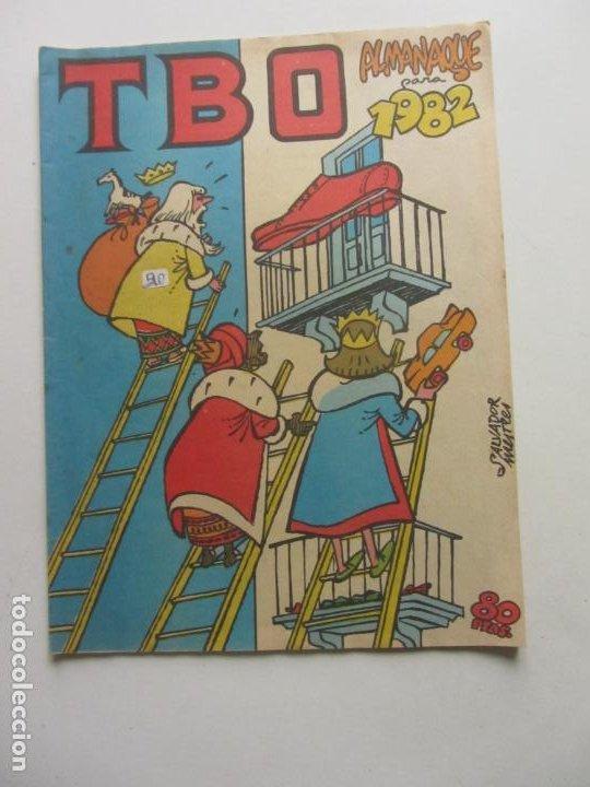 TBO EXTRA Nº 130. ALMANAQUE 1982 . 80 PTS BUIGAS ARX96 (Tebeos y Comics - Buigas - TBO)