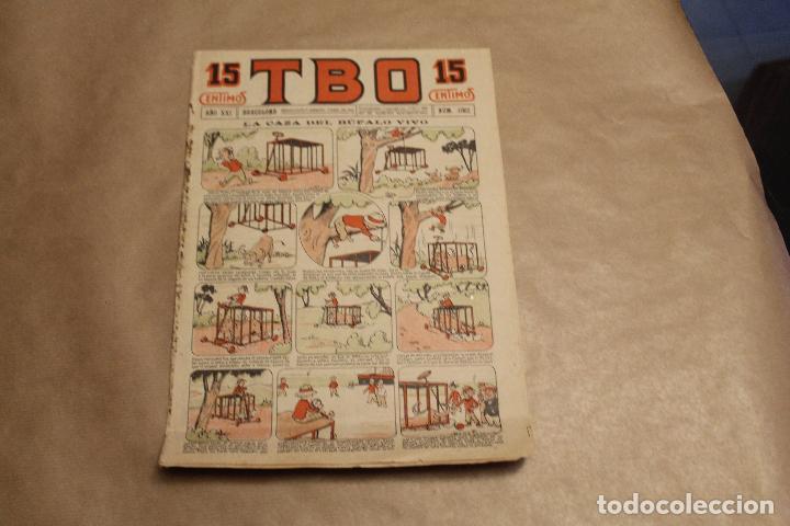 TBO Nº 1062 , 15 CENTIMOS (Tebeos y Comics - Buigas - TBO)