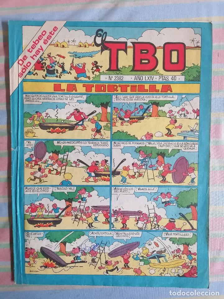 TBO AÑO LXIV Nº 2382 (Tebeos y Comics - Buigas - TBO)