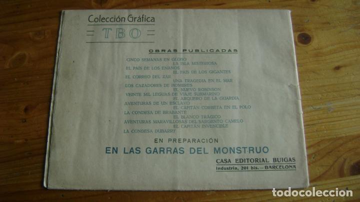 Tebeos: COLECCION GRAFICA TBO TEBEO AÑOS 30 LA CONDESA DUBARRY VER FOTOS Y DESCRIPCION CJ1 - Foto 2 - 263164230