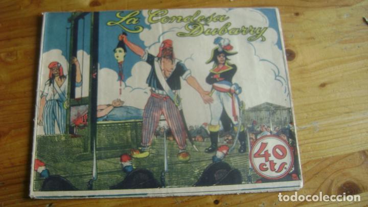 COLECCION GRAFICA TBO TEBEO AÑOS 30 LA CONDESA DUBARRY VER FOTOS Y DESCRIPCION CJ1 (Tebeos y Comics - Buigas - TBO)