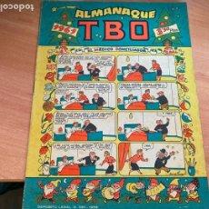 Livros de Banda Desenhada: TBO ALMANAQUE PARA 1961 BELEN RECORTABLE CONTRAPORTADA OPISSO (BUIGAS) (COIB200). Lote 266899969