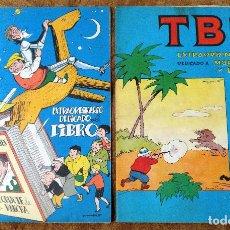 Tebeos: TBO EXTRA Nº 27 MORCILLON Y BABALI Y Nº 49 DEDICADO AL LIBRO (BUIGAS, ESTIVILL Y VIÑA 1966/70). Lote 243437630
