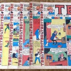 Tebeos: TBO 780, 784, 788, 2031, 2110, 2134, 2138, 2151 Y 2177 (BUIGAS, ESTIVILL Y VIÑA 1972/76) 9 TEBEOS.. Lote 243442985