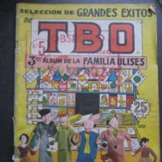 Tebeos: TBO 3ER ALBUM DE LA FAMILIA ULISES . AÑO 1958. Lote 267440164