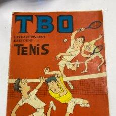 Livros de Banda Desenhada: TBO. EXTRAORDINARIO DEDICADO AL TENIS. 1958.. Lote 267545434