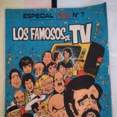 Tebeos: ESPECIAL TBO Nº 7, LOS FAMOSOS DE TV.. Lote 268769839