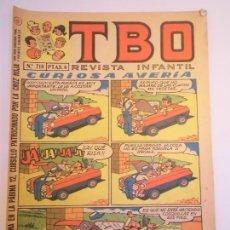 Livros de Banda Desenhada: TBO NUM 718 - SEGUNDA EPOCA. Lote 269030479