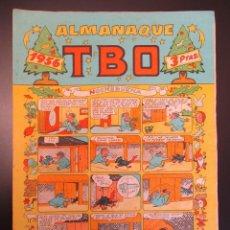 Tebeos: TBO (1952, TBO / BUIGAS, ESTIVILL Y VIÑA) EXTRA 4 · XII-1955 · ALMANAQUE 1956. Lote 269283003