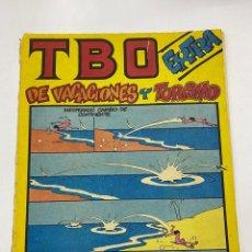 Tebeos: TBO. Nº EXTRA DE VACACIONES Y TURISMO. REVISTA JUVENIL. EDICIONES TBO. Lote 269775293