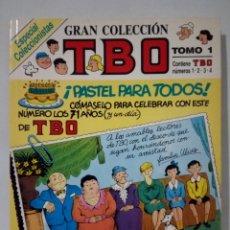 Tebeos: GRAN COLECCIÓN TBO. TOMO 1. Lote 270190693