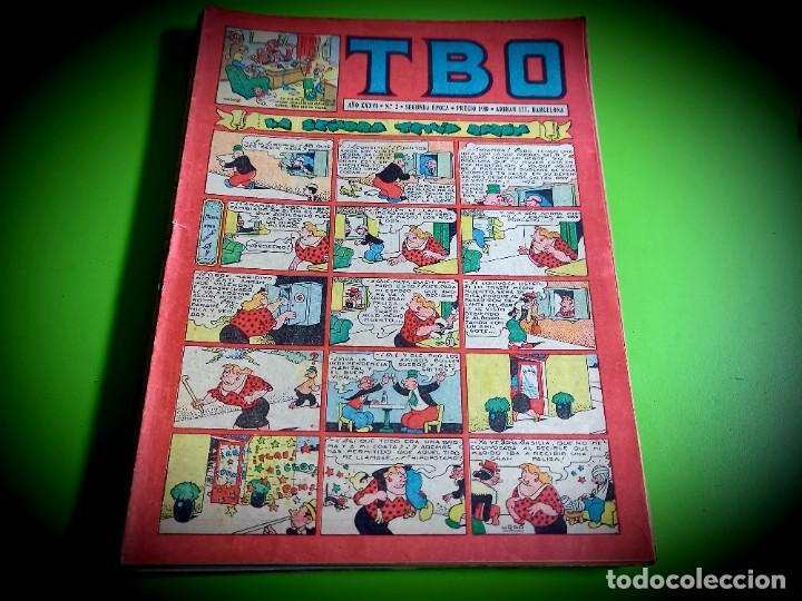 TBO Nº 2 -BUIGAS -SEGUNDA EPOCA -EXCELENTE ESTADO (Tebeos y Comics - Buigas - TBO)