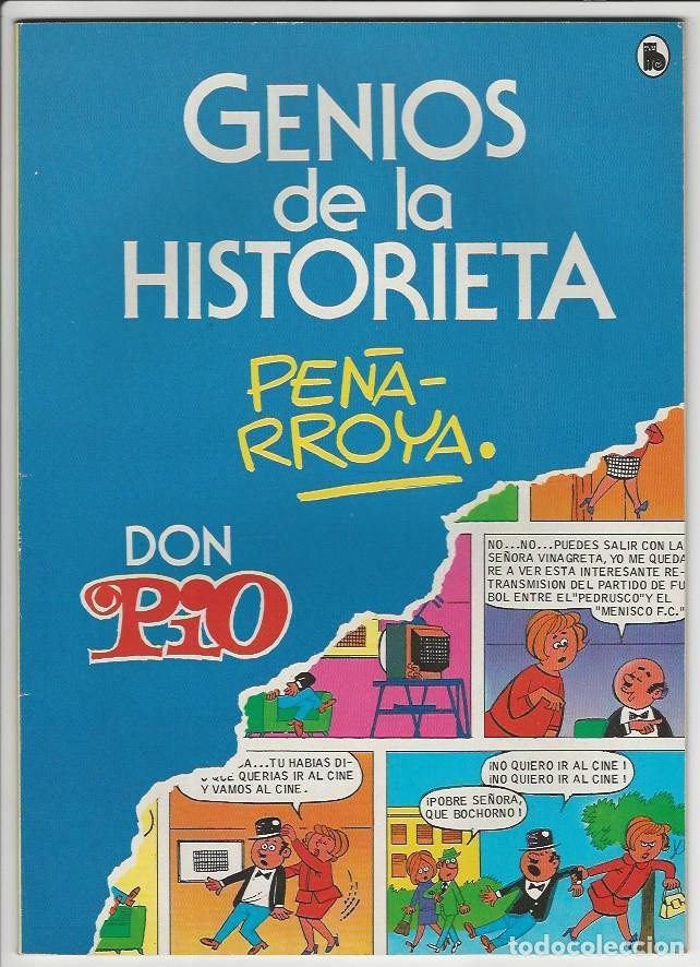 BRUGUERA. GENIOS DE LA HISTORIETA. 2 (Tebeos y Comics - Buigas - Otros)