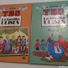 Giornalini: LOTE 2 CÓMICS LA FAMILIA ULISES. LOS ARCHIVOS DE TBO. EDICIONES B. PRIMERA EDICIÓN 1991.. Lote 275325498