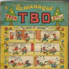 Tebeos: ALMANAQUE TBO 1959 - CON BELEN EN CONTRAPORTADA. Lote 275792008