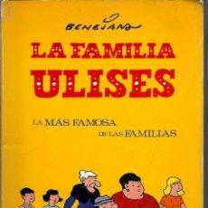 Tebeos: BENEJAM - LA FAMILIA ULISES - EDICIONES DEL COTAL1978. Lote 275792418