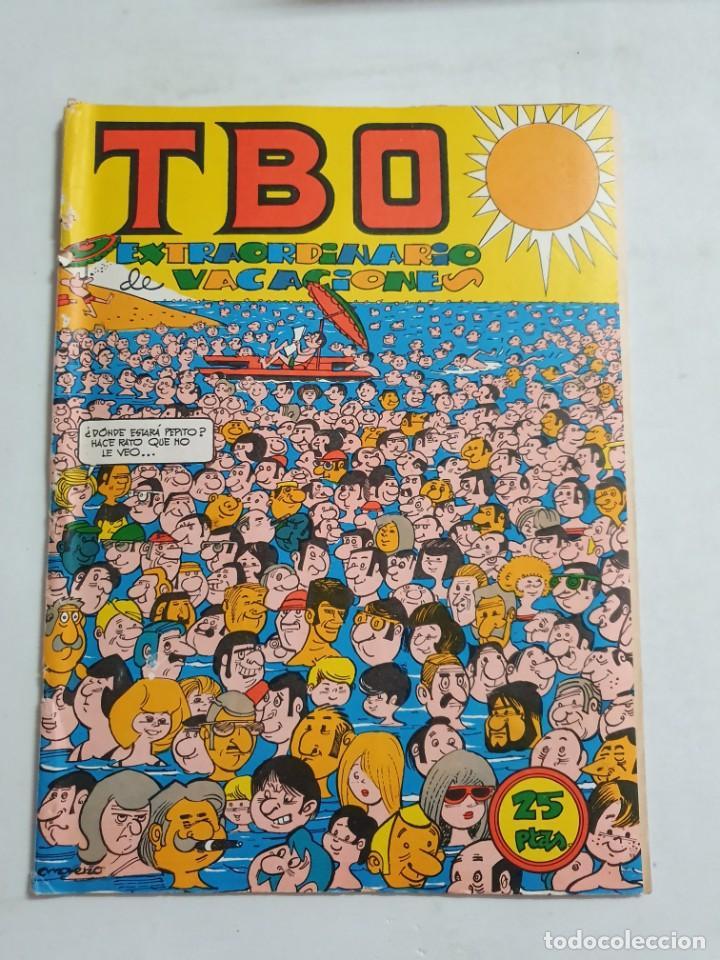 TBO EXTRAORDINARIO DE VACACIONES ESTADO NORMAL MAS ARTICULOS NEGOCIABLE (Tebeos y Comics - Buigas - TBO)
