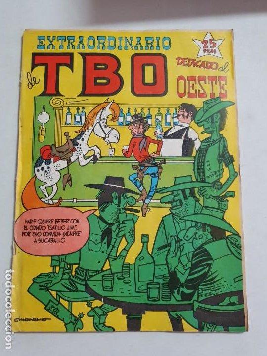 TBO EXTRAORDINARIO DEDICADO AL OESTE ESTADO NORMAL BUENO MAS ARTICULOS NEGOCIABLE (Tebeos y Comics - Buigas - TBO)
